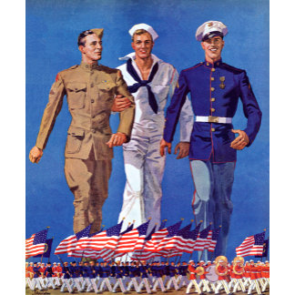 Army, Navy & Marines