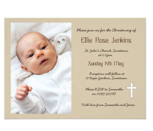 Christening, Baptism and Dedication