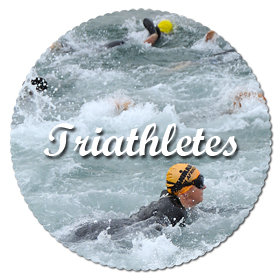 Triathletes