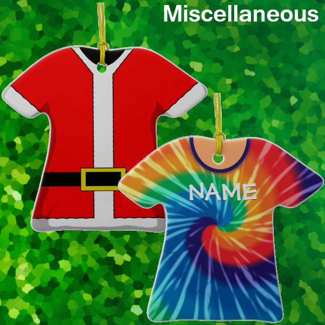 Miscellaneous Shirt Ornaments
