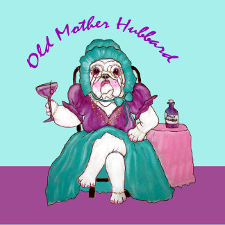 OLD MOTHER HUBBARD BULLY CARTOON