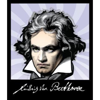Ludwig van Beethoven (background)