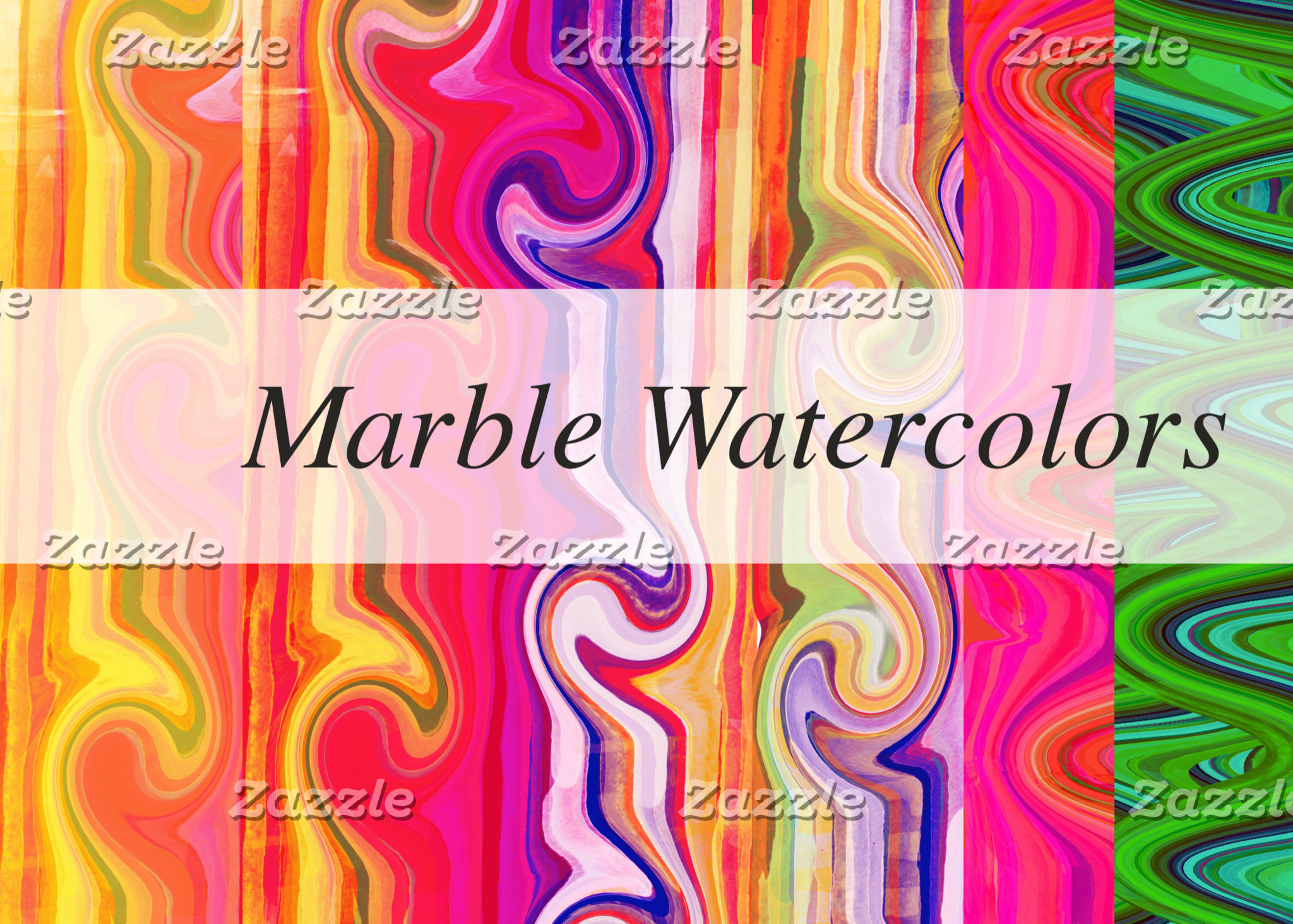 Marbled Watercolors