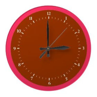 ALL Wall Clock  jGibney The MUSEUM Zazzle Gifts