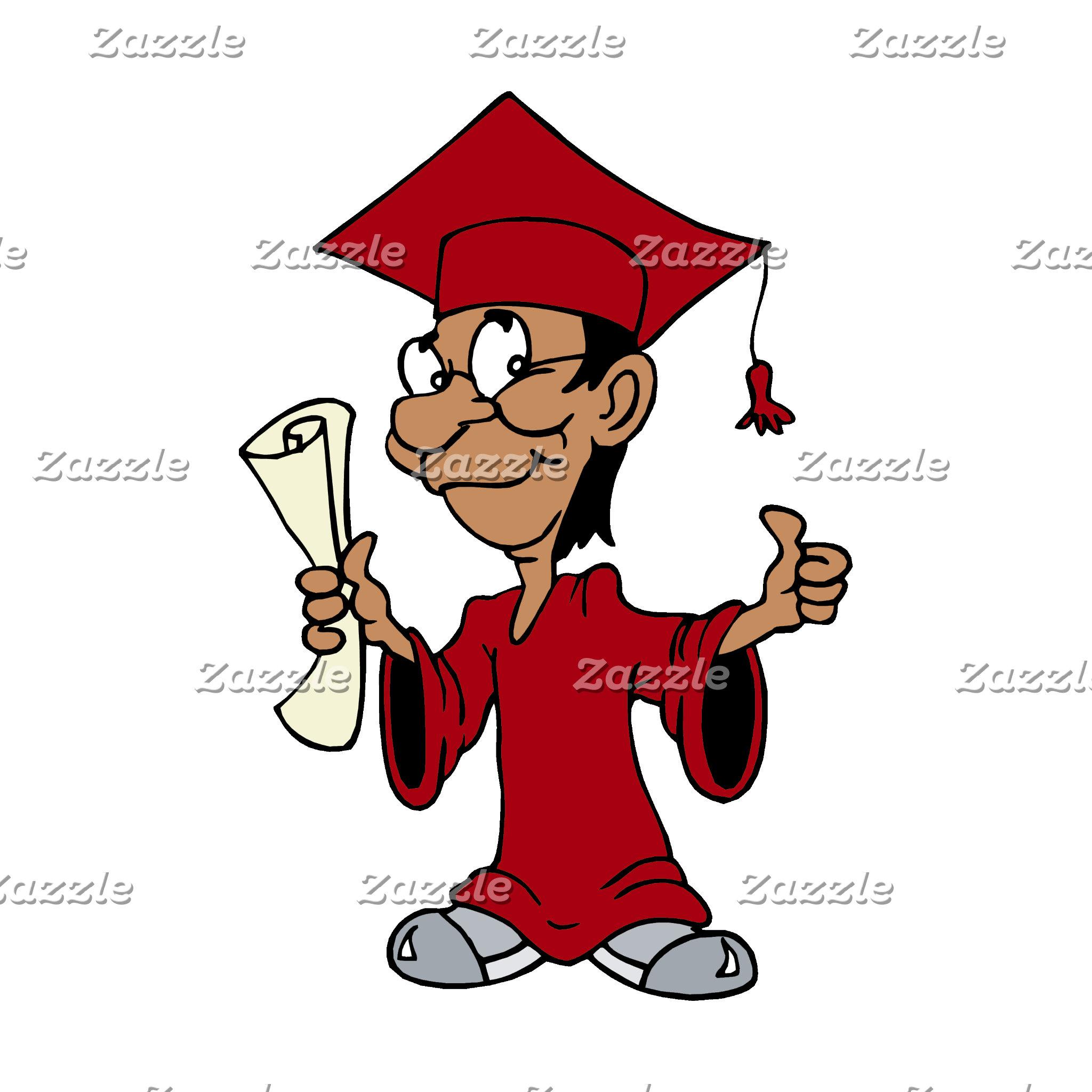 Burgundy Grad