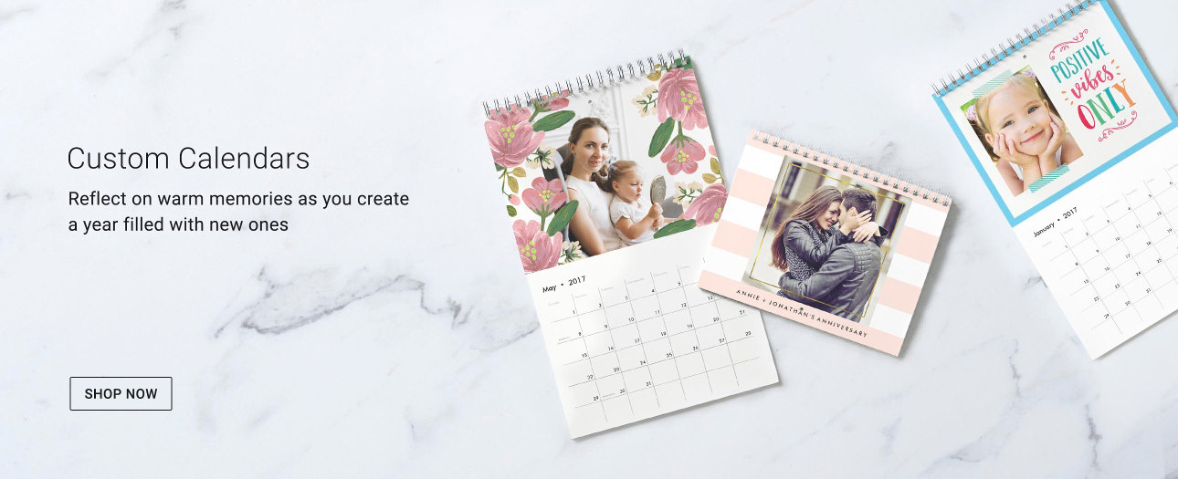 Personalised Calendars - Family Photo Calendars
