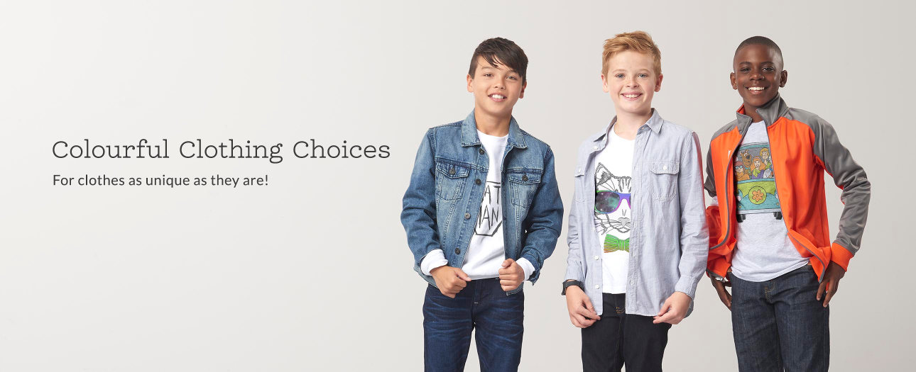 Personalised Kids' Clothing - For clothes as unique as they are!