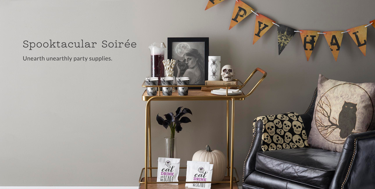 Spooktacular Soirée - Unearth unearthly party supplies