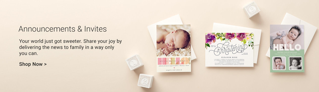 Personalised baby gifts baby products zazzle baby announcements and invites negle Images