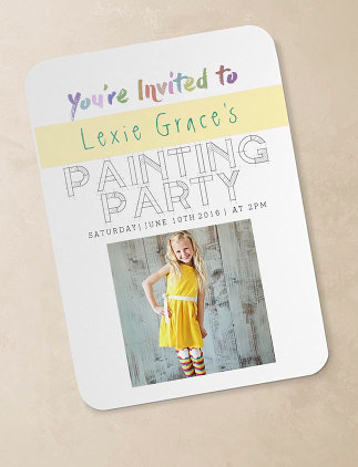 Customized Birthday Invitations