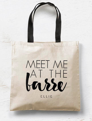 Typographic<br />Tote Bags