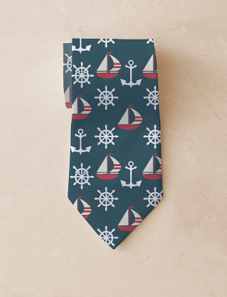 Personalise ties at Zazzle
