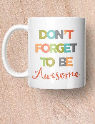 Typography Mugs