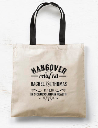 Customisable Wedding Tote Bags