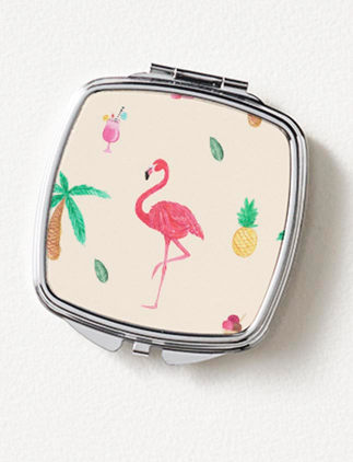 Personalise Compact Mirrors Zazzle