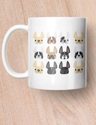 Pug Mugs