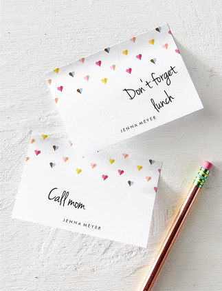 Personalised Post-it Notes