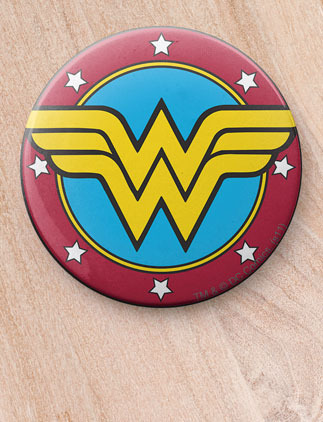 DC comics badges from Zazzle.co.uk