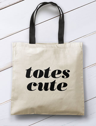 Typographic Totes