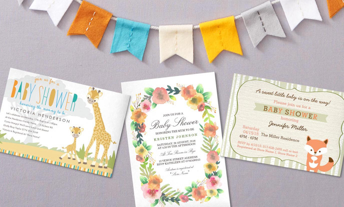 Browse Zazzle's Most Popular Baby Shower Invitations and customise with your own text, photos or designs.
