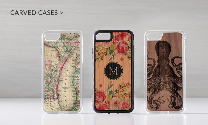 Carved iPhone 7 Cases