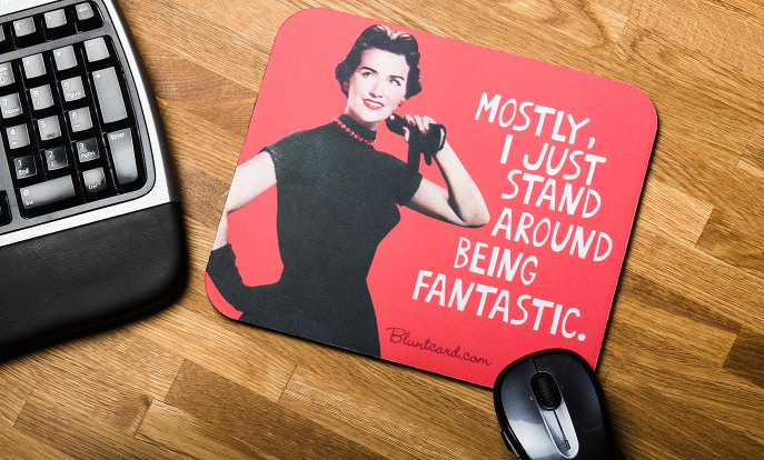 Funny Mouse Mats