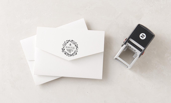 Christmas Rubber & Self Inking Stamps