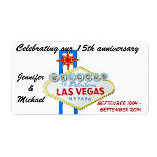 Las Vegas Wedding Anniversary Gifts