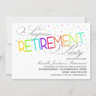 retirement cards invitations. Black Bedroom Furniture Sets. Home Design Ideas