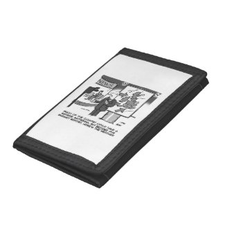 Weather Forecast on Budget Day Tri-fold Wallets