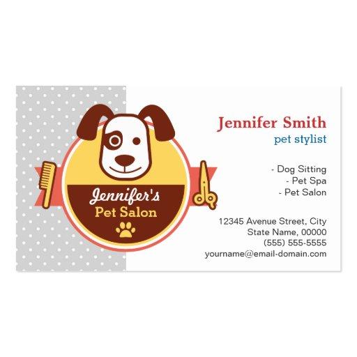 Premium Animal Pet Care Business Card Templates