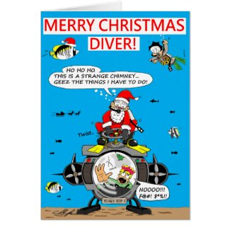 Christmas cards for divers!