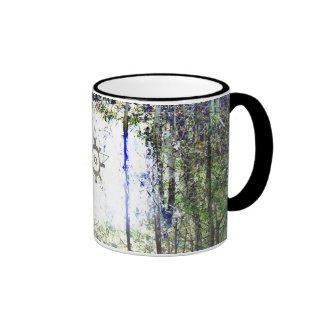 Forest Fantasy Symbol Ringer Mug