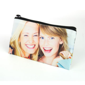 "Custom Print 4""x7"" Cosmetic Bag"