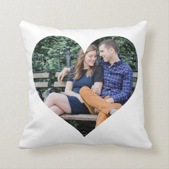 Photo Heart Cushion