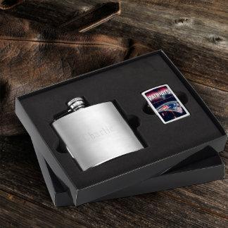 Flask & New England Patriots NFL Zippo Lighter