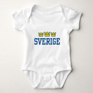 Sverige Baby Bodysuit