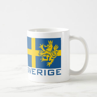 Sverige Flag Coffee Mug