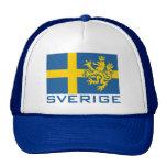 Sverige Flag Hats
