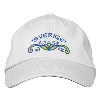Sverige: Sweden Flourish Embroidered Hat