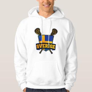 Sverige Sweden Lacrosse Hoodie