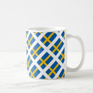 Sverige Sweden Swedish Flag Coffee Mug