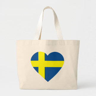 svezia-heart. large tote bag