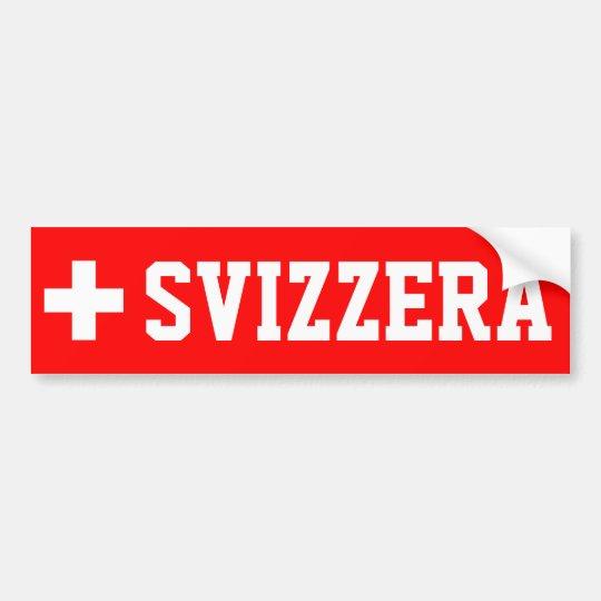 Svizzera Bumper Sticker