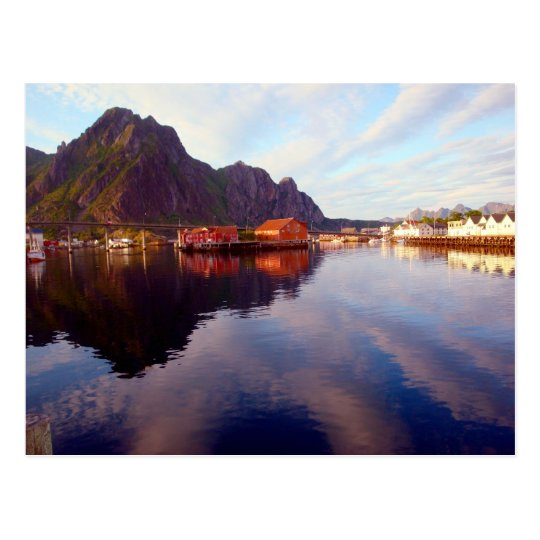 Svolvaer, Lofoten Islands Postcard