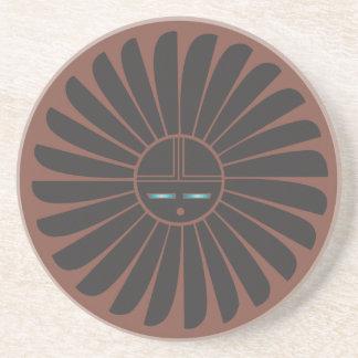 SW black sun coaster