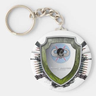 SW Logo Basic Round Button Key Ring