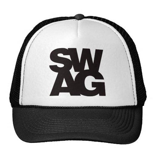 Swag - Black Trucker Hats