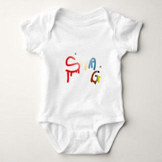 Swag Cap Baby Bodysuit