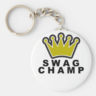 SWAG CHAMP T-Shirts.png Keychain